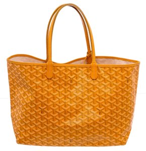 Goyard St. Louis St. Louis Pm Handbag Goyardine St Louis Tote in Yellow