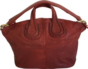 Givenchy Satchel in deep red