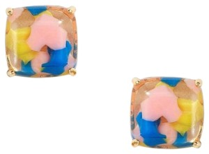 Kate Spade Kate Spade Square Stud Earrings Yellow Pink Blue
