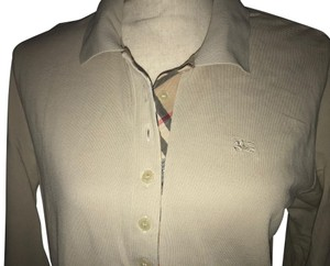 Burberry Polo Top Neutrals