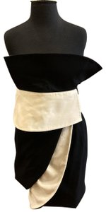 Gianfranco Ferre Vintage Abstract 80's 90's Contrast Dress