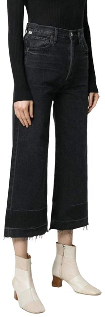 Item - Too Late Dark Rinse Sacha High Trouser/Wide Leg Jeans Size 29 (6, M)