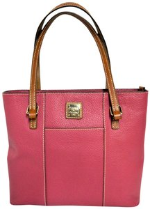 Dooney & Bourke Leather Tote in Strawberry