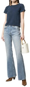 RE/DONE Re/Done Denim Flare Leg Jeans-Light Wash