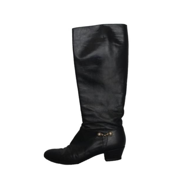 Item - Black Leather Boots/Booties Size US 6 Narrow (Aa, N)
