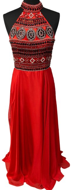 Item - Red A5000 Long Formal Dress Size 10 (M)