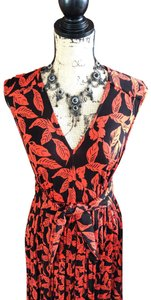 back/ red Maxi Dress by Tracy Reese