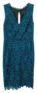 Aidan Mattox Sleeveless Lace Dress