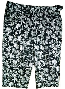 White Stag P1381 Cropped Pants Capris black, white