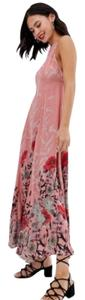 Pink Maxi Dress by Free People Maxi Floral Boho