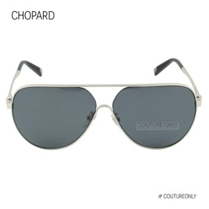 Chopard New Aviator Superfast SCH-C30 Silver Gray Smoked Polarized Pilot