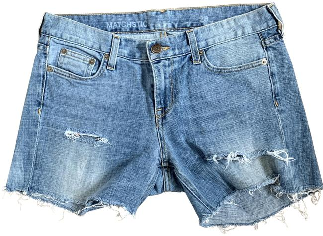Item - Light Wash Pre-owned Denim Style (28) Shorts Size 6 (S, 28)