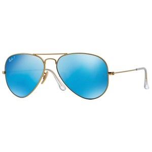 Ray-Ban RAY BAN RB3025 112/4L GOLD/BLUE AUTHENTIC SUNGLASSES