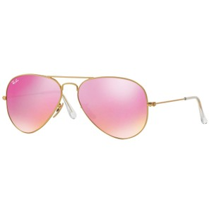 Ray-Ban RAY BAN RB3025 112/4T GOLD/PURPLE AUTHENTIC SUNGLASSES