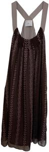 Bizz Jacquard Silk Dress