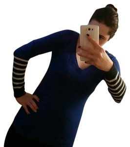 Old Navy Wool Royal Blue Sequin Old Sweater