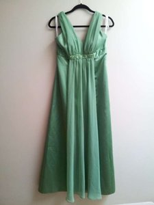 David's Bridal Clover Green D19352 Dress