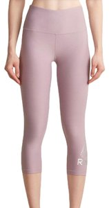Reebok REEBOK Pink Sea Fog Skinny High Rise Leggings M
