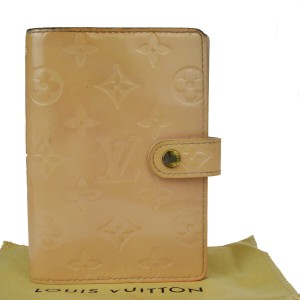 Louis Vuitton LOUIS VUITTON Agenda PM Day Planner Cover Monogram Vernis
