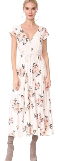 Item - Ivory All I Got Long Casual Maxi Dress Size 12 (L)