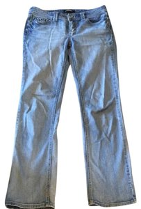 White House | Black Market Boot Cut Jeans-Light Wash