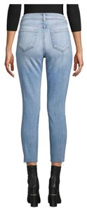 L'AGENCE Straight Leg Jeans-Distressed