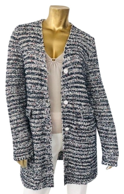 Item - Multicolor Cotton Knit Cardigan Size 12 (L)