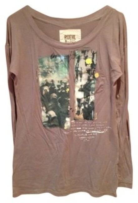 Preload https://img-static.tradesy.com/item/27372/ruehl-no925-gray-with-image-transfer-long-sleeves-cotton-paint-words-blouse-size-6-s-0-0-650-650.jpg