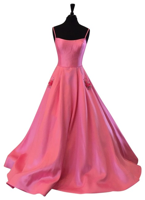 Item - Bright Pink 53407 Long Formal Dress Size 6 (S)