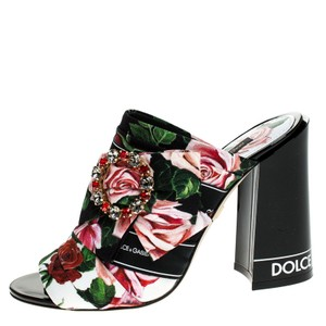 Dolce&Gabbana Leather Multicolored Sandals