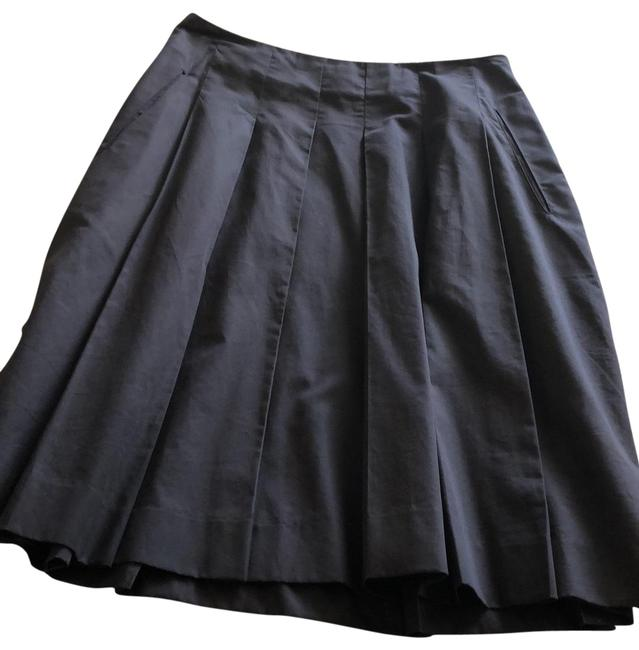 Item - Dark Brown Fit and Flare Skirt Size Petite 0 (XXS)
