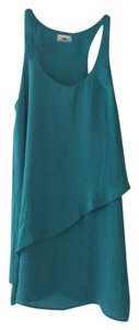Tobi short dress Teal Green on Tradesy