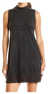 Jessica Simpson short dress Black Chic Trendy Distressed Cute Summer on Tradesy
