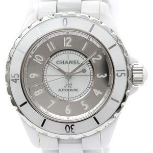 Chanel Chanel J12 Automatic Ceramic Men's Sports Watch H4862