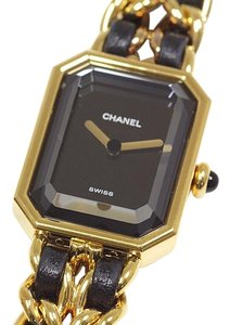 Chanel Chanel Ladies Watch Premiere #L Black Dial
