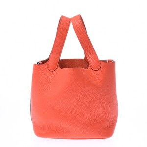 Hermes Satchel in Orange poppy