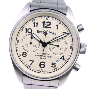 Bell & Ross Bell & Ross Vintage 126.A Stainless Steel Automatic Mens Watch