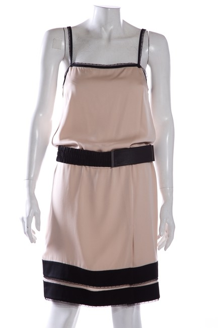 Item - Pink Mid-length Cocktail Dress Size 4 (S)