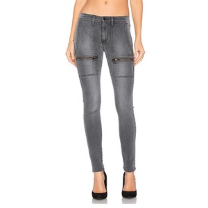 Black Orchid Denim Skinny Jeans-Dark Rinse