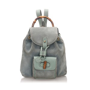 Gucci Glj0egubp001 Vintage Leather Backpack