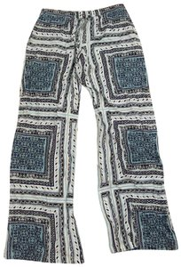 Parker Trouser Pants blue and white