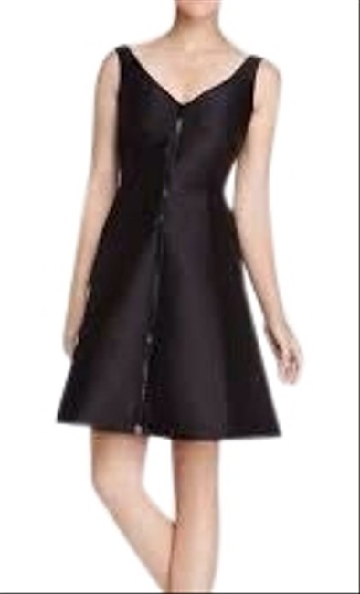 Item - Black Dive Right In Short Cocktail Dress Size 8 (M)