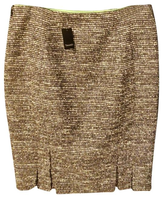 Item - Brown Cream Skirt Size 6 (S, 28)