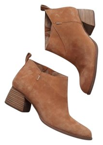 TOMS Trendy Ankle Suede Carmel Boots