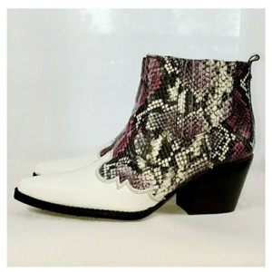 Sam Edelman WHITE BLACK Boots