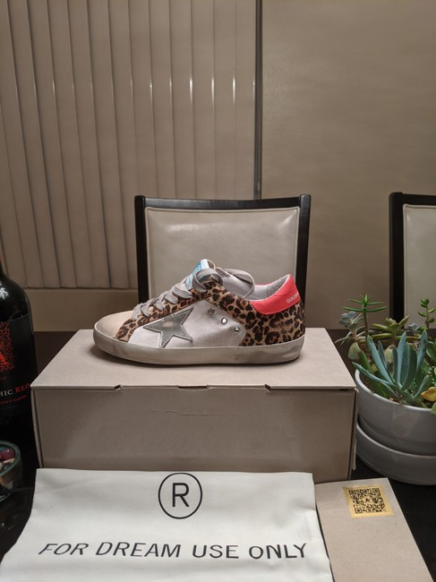 Golden Goose Deluxe Brand Multicolor Superstar Distressed Leopard-print Calf Hair Leather and Suede Sneakers Size EU 35 (Approx. US 5) Regular (M, B) Golden Goose Deluxe Brand Multicolor Superstar Distressed Leopard-print Calf Hair Leather and Suede Sneakers Size EU 35 (Approx. US 5) Regular (M, B) Image 5