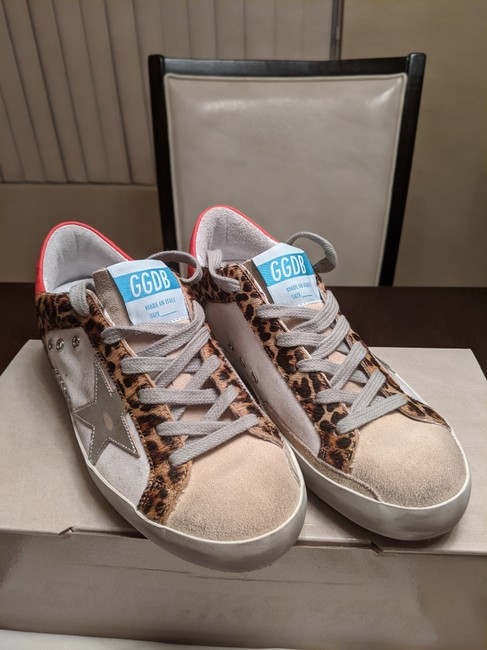 Golden Goose Deluxe Brand Multicolor Superstar Distressed Leopard-print Calf Hair Leather and Suede Sneakers Size EU 35 (Approx. US 5) Regular (M, B) Golden Goose Deluxe Brand Multicolor Superstar Distressed Leopard-print Calf Hair Leather and Suede Sneakers Size EU 35 (Approx. US 5) Regular (M, B) Image 9