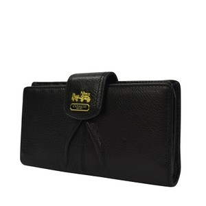 Coach Madison Leather Skinny Credit Card Wallet