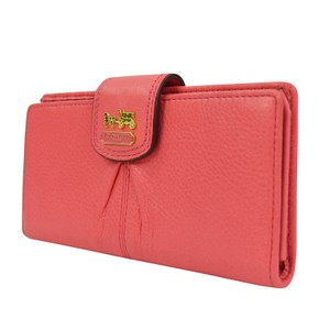 Coach Madison Leather Skinny Credit Card Wallet 46612