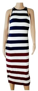 WHITE BLUE RED Maxi Dress by Ted Baker